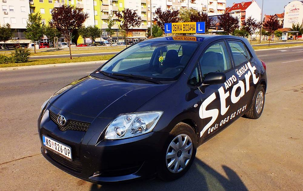 Auto skola start
